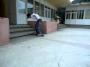 Backside Kickflip 3 stairs