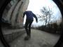 """Alexandru Costin - Line 360flip, grind, biggie @ Bucuresti """"Palatul Copiilor"""""""